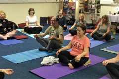 Yoga Students 3