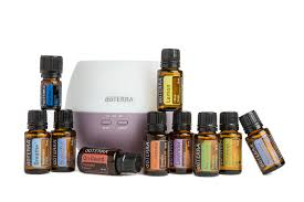 doTerra Diffuser and Essential Oils