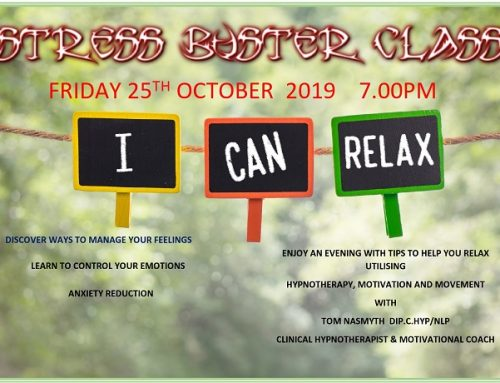 Monthly Stress Buster Evenings